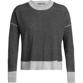Icebreaker Carrigan Sweat-shirt Femme, steel heather
